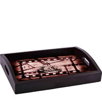 ThinNFat Skull Grave Printed Tray