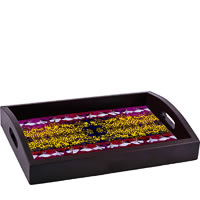 ThinNFat Sufi Design Printed Tray