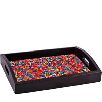 ThinNFat Colourful Egg Printed Tray