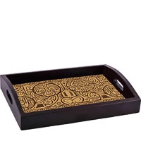 ThinNFat Maori Art Printed Tray