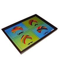 Twirly Tales Turban Series Rectangular Tray