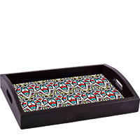ThinNFat Colourful Bee Printed Tray