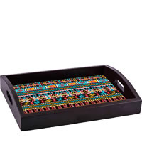 ThinNFat Colourful Art Printed Tray