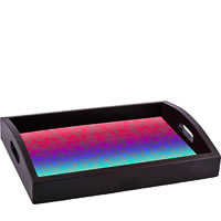 ThinNFat Triangle Gradient Shade Printed Tray