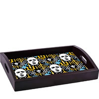 ThinNFat Electronic Pattern Printed Tray