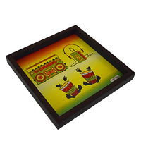 Twirly Tales Music Series Square Tray