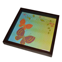 Twirly Tales Butterfly Series Square Tray