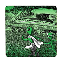 Posterboy Charbak Alien Apu Durga Coasters - set of 4