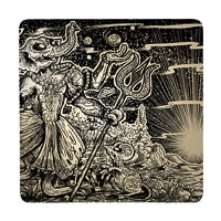Posterboy Charbak Dancing Ganapati Coasters - set of 4