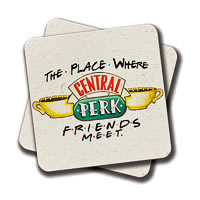 Amey Friends - Where We Meet Coasters - set of 2