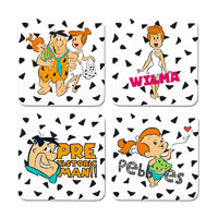 Warner Brothers The Flintstones Characters II Coasters - set of 4