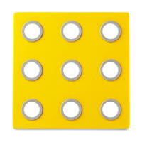 Rosti Mepal Domino Designer Trivet (Eos Yellow)