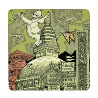 Posterboy Charbak Yeti Kong Coasters - set of 4