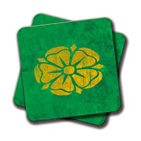 Amey Green Logo Coasters - set of 2