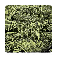 Posterboy Charbak Vintage Pollution Coasters - set of 4