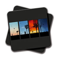 Amey Life Coasters - set of 2