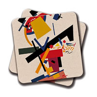 Amey Too Many Thoughts Coasters - set of 2