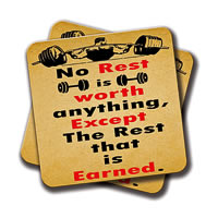 Amey Expect the Rest Coasters - set of 2