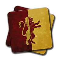 Amey GOT HP Logo Coasters - set of 2