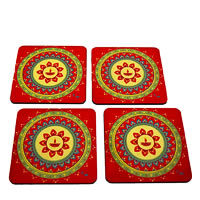 Twirly Tales Festive Diya Series Coasters - set of 4