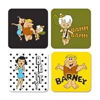 Warner Brothers The Flintstones Characters I Coasters - set of 4