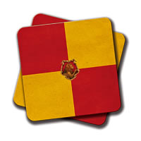 Amey Gryffindor Coasters - set of 2