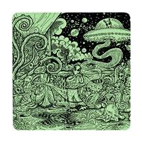 Posterboy Charbak Alien Mahabharata Coasters - set of 4