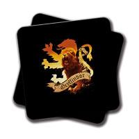 Amey Gryffindor Lion Ryffin HP Coasters - set of 2