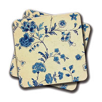 Amey Floral Coasters - set of 2