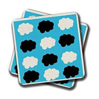 Amey Cloud Logo Coasters - set of 2