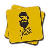 Amey Lootera Hoon Coasters - set of 2
