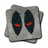 Amey Dead Pool Xforce Coasters - set of 2