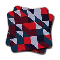 Amey Stripes Coasters - set of 2