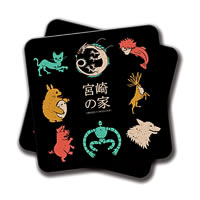 Amey House of Miyazaki Coasters - set of 2