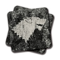 Amey Winter Coasters - set of 2