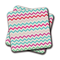 Amey Florida Beach Club Coasters - set of 2