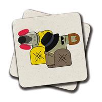 Amey Breaking Bad Coasters - set of 2