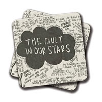 Amey Fault in Our Stars Coasters - set of 2