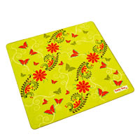 Twirly Tales Floral Series Trivets - set of 2