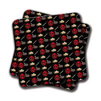 Amey Dead Pool Pattern Coasters - set of 2