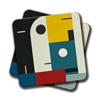 Amey Bauhaus Age Coasters - set of 2