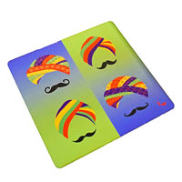 Twirly Tales Turban Series Trivets - set of 2