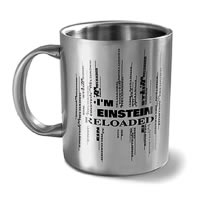 Hot Muggs I'm Einstein Reloaded Mug