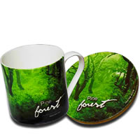 Hot Muggs Wild Focus Forests - Himachal Pradesh, Mug & Coaster - set of 4