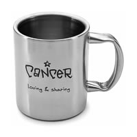 Hot Muggs Cancer Personality Sunsign Mug