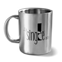 Hot Muggs I'm Single Today Mug