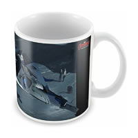 Marvel Avengers Aircraft Ceramic Mug