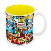 Marvel Comics Black Bolt Ceramic Mug