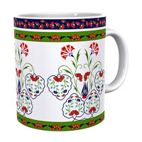 Kolorobia Sparkling Turkish Classic White Mug