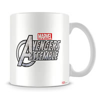 Marvel Avengers Assemble in Action Ceramic Mug